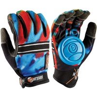 SECTOR 9 BHNC SLIDE GLOVES ACID BLUE FREE POSTAGE AUSTRALIAN SELLER KINGPIN