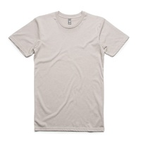 AS COLOUR T-SHIRT STAPLE TEE PLAIN LIGHT GREY NEW MENS AUSTRALIAN SELLER KINGPIN