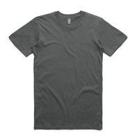 AS COLOUR T-SHIRT STAPLE TEE PLAIN CHARCOAL NEW MENS AUSTRALIAN SELLER KINGPIN