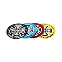 INDEPENDENT TRUCKS SKATEBOARD FOIL STICKER SKATE DECAL 9""