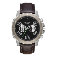 NIXON RANGER CHRONO LEATHER 44 MM STAR WARS WATCH NEW AUST SELLER LEATHER SW