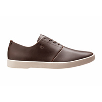 HUF GILLETTE SHOE BROWN PREMIUM LEATHER SHOES NEW FREE POSTAGE SKATEBOARD