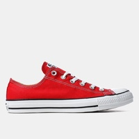 CONVERSE CHUCK TAYLOR ALL STAR OX RED LOW CANVAS SHOES NEW AUSTRALIAN