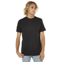 VOLCOM STONE SOLID SHORT SLEEVE TEE BLACK AUSTRLIAN SELLER FREE POSTAGE KINGPIN