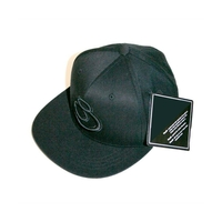 JUICE CLOTHING BIG BLACK CAP SNAPBACK HAT NEW FLEX FIT FLEXFIT YUPOONG