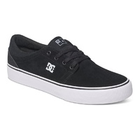 DC SHOES TRASE S SKATEBOARD NEW BLACK SHOE FREE POSTAGE SK8 SKATE SHOP AUSTRALIA