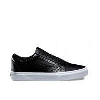VANS OLD SKOOL DX SHOES LEATHER BLACK SHOES SCHOOL AUST SELLER FREE POSTAGE