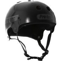 PROTEC HELMET CLASSIC BUCKY SOLID BLACK NEW FREE POSTAGE AUSTRALIAN SELLER