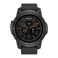 NIXON WATCH THE MISSION BLACK AUST SELLER A11672101-00 ANDRIODWEAR IPHONE APP