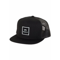 RVCA VA ALL WAY BACK TRUCKER CAP SNAP BACK RUCA HAT CAP SNAPBACK NEW YUPOONG