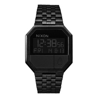 NIXON RE-RUN All Black WATCH NEW FREE POSTAGE AUST SELLER A158 001 WATCH