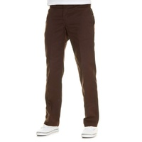 DICKIES BROWN STRAIGHT SLIM FIT WORK PANTS KINGPIN SKATE FREE POST AUS SELLER