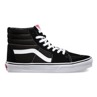 VANS SHOES SK8-HI BLACK / WHITE SKATEBOARD SK8 HI SHOE SKATE HIGH AUST SELLER