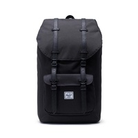 HERSCHEL LITTLE AMERICA BLACK / BLACK  SYNTHETIC BACKPACK SUPPLY BACK PACKS BAGS