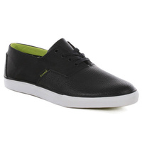 DIAMOND SUPPLY CO SHOES CUTS BLACK/LIME SKATE SKATEBOARD KINGPIN STORE