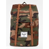 HERSCHEL BACKPACK RETREAT SUPPLY WOODLAND CAMO BACK PACKS BAGS BAG AUST SELLER