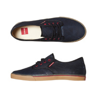 NEW GRAVIS BURTON SHOES SLYMZ DARK NAVY WAX 5 12 SKATE SKATEBOARD KINGPIN STORE