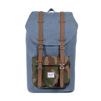 HERSCHEL BAG CO bag Little America Backpack 4 Navy camo tan PU FREE POST