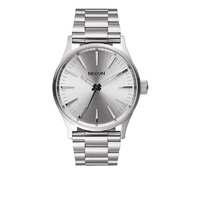NIXON NIXON Sentry 38 SS All Silver WATCH NEW FREE POSTAGE AUST SELLER WATCHES