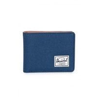 HERSCHEL WALLET HANK NAVY TAN MENS 10049-00882-0S AUST SELLER KINGPIN FREE POST