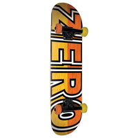 "Zero COMPLETE SKATEBOARD BOSERIO 7.875"" SIGNATURE BOLD FREE POST AUST SELLER NEW"