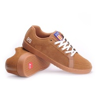 ES SAL BARBIER BROWN / GUM SHOES ES AUST SELLER FREE POST SKATEBOARD KINGPIN