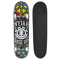 ELEMENT SKATEBOARD COMPLETE NYJAH RISE UP TWIG 7.6 SKATE AUST SELLER FREE POST