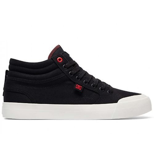 DC SHOES EVAN SMITH HI TX SE BLACK WHITE RED HIGH TOP NEW FREE POST AUST SELLER