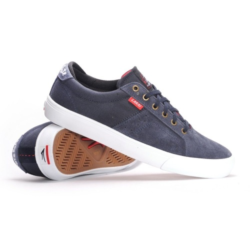 LAKAI FLACO MIDNIGHT SUEDE NEW SKATEBOARD SHOES FREE POSTAGE AUSTRALIAN SELLER