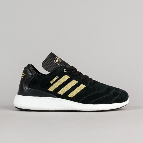 Adidas Busenitz Pure Boost Black Gold Skate Shoes Free Post Aust