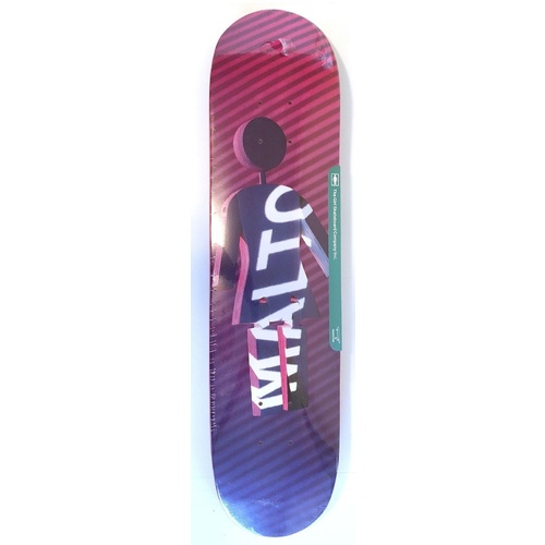 "GIRL SKATEBOARDS SEAN MALTO FUTURE PROJECTIONS 7.25"" SKATEBOARD DECK FREE GRIP"