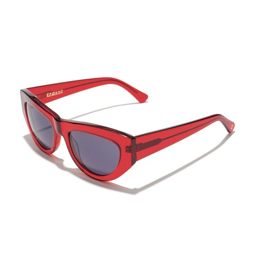 Epokhe Sunglasses CANDY BLOOD RED / TRANS GLOSS BLACK Mens Womens Shades Free postage